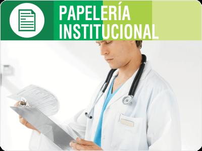 Papelería institucional